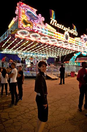Elizabeth at the Carnival