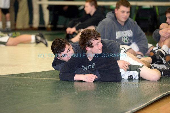 NJSIAA-District XII Wrestling Championships (SPHS TIGERS) at So. Plainfield High School-Quarterfinals-Feb.21,2014