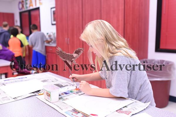 10-6 Elementary art class