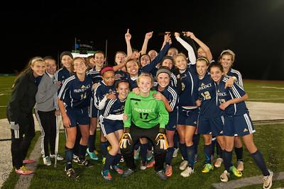 2012 PHS Girls Soccer vs Bishop Chatard