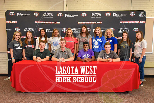 Lakota West Spring Signing Day 4.20.17