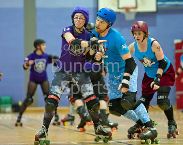 Mean City Roller Derby v Fear and Lothian