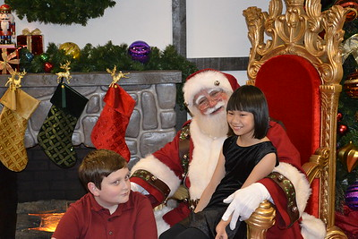 Seeing Santa