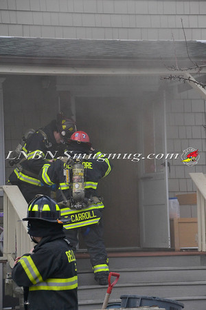 Bellmore F.D. House Fire 410 Shore Road 1-27-14