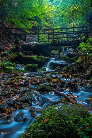 Heslacher Wasserfalle