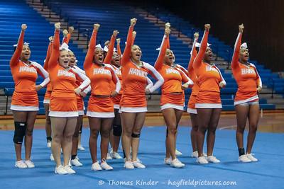 Varsity Cheer at Conference Semi-Finals 10/13/16