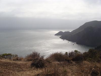 California:  Pacific Ocean and Coastline, Marin County, Muir Woods
