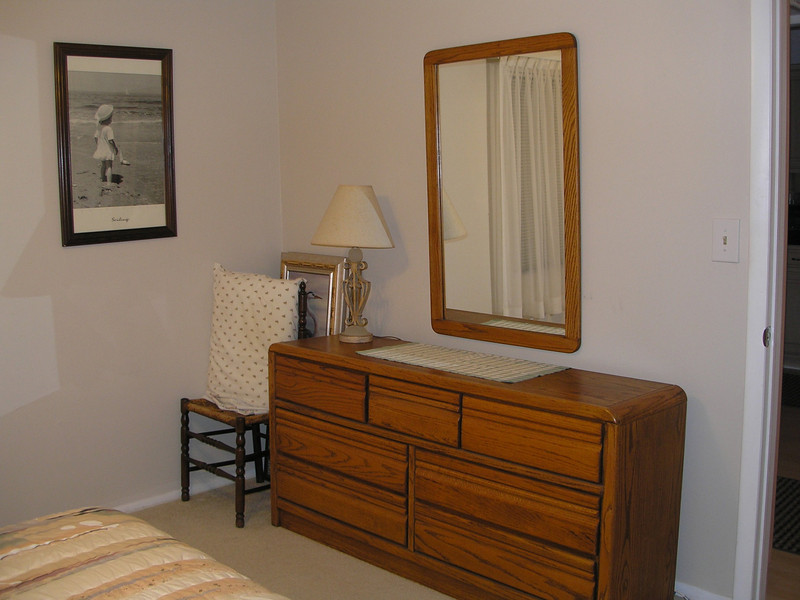Dresser in Guest bedroom