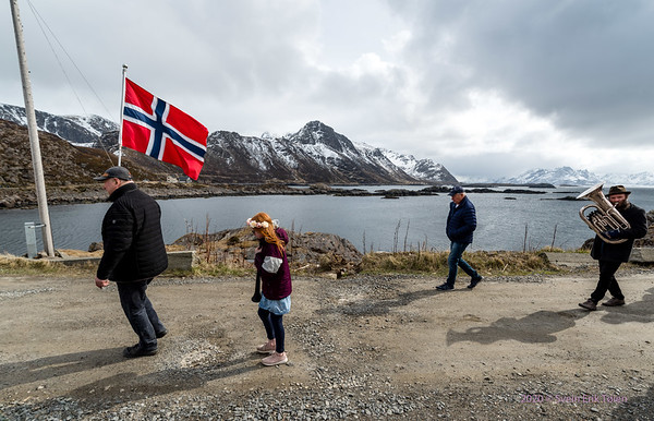 Nyksund 17th of may parade 2020