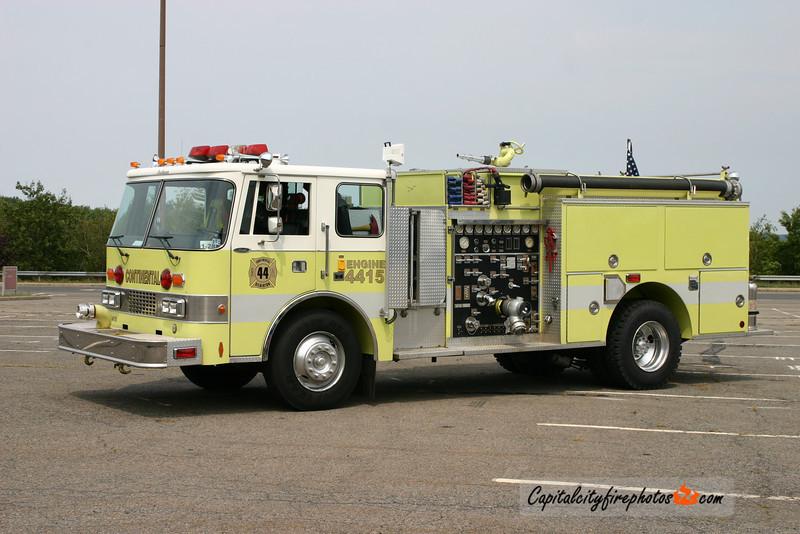 Gilberton (Continental Hose Co. 3) Engine 44-15: 1985 Pierce Dash 1000/750 (X-Sacramento Navy Base, CA)