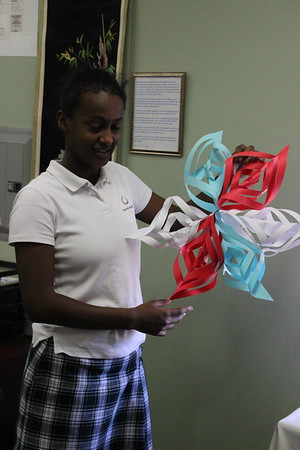 6th Grade Snowflake Craft