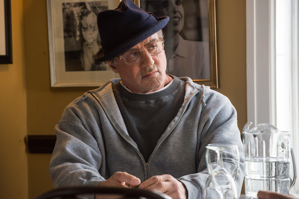 """. This photo provided by Warner Bros. Pictures shows Sylvester Stallone as Rocky Balboa in \""""Creed.\""""  Stallone was nominated for an Oscar for best supporting actor on Thursday, Jan. 14, 2016, for his role in the film. The 88th annual Academy Awards will take place on Sunday, Feb. 28, at the Dolby Theatre in Los Angeles. (Barry Wetcher/Warner Bros. Pictures via AP)"""