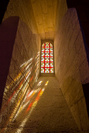 Window, Palais des Papes, Avignon, France