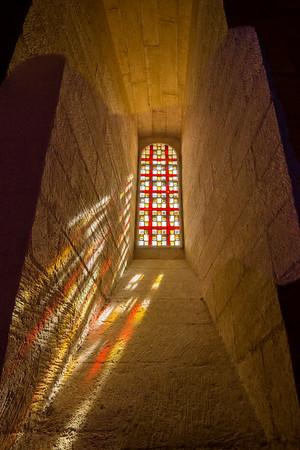 Window, Palais des Papes, Avignon, France