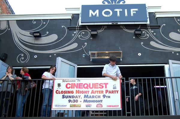 "MOTIF Lounge ""Cinequest Film Festival Party 3 2008"" San Jose, CA"