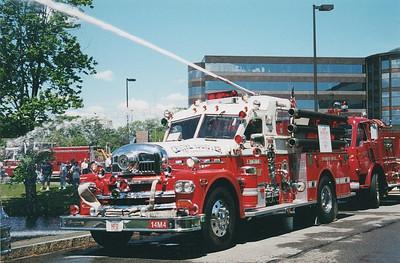 Massachusetts Antique Fire Apparatus Association Muster Lynnfield, MA 6/9/2001