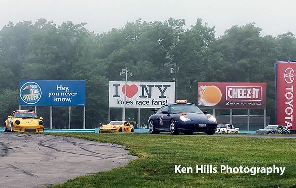 Porsche Clash at the Glen