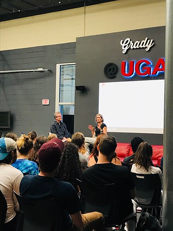 Beth Talbert visits Grady 09.26.2019