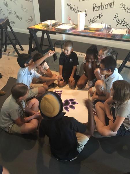3rd Grade Field Trip to Art/Yoga Studio 2019