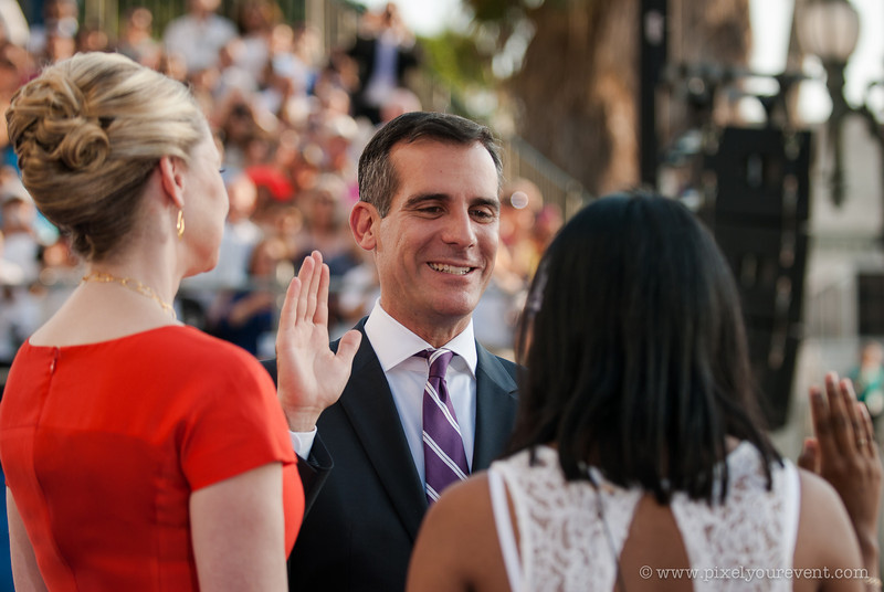 LA Mayor Inauguration