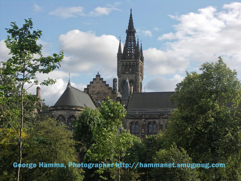 Views of the university buildings