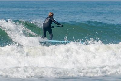 Surfing Long Beach 5-8-18