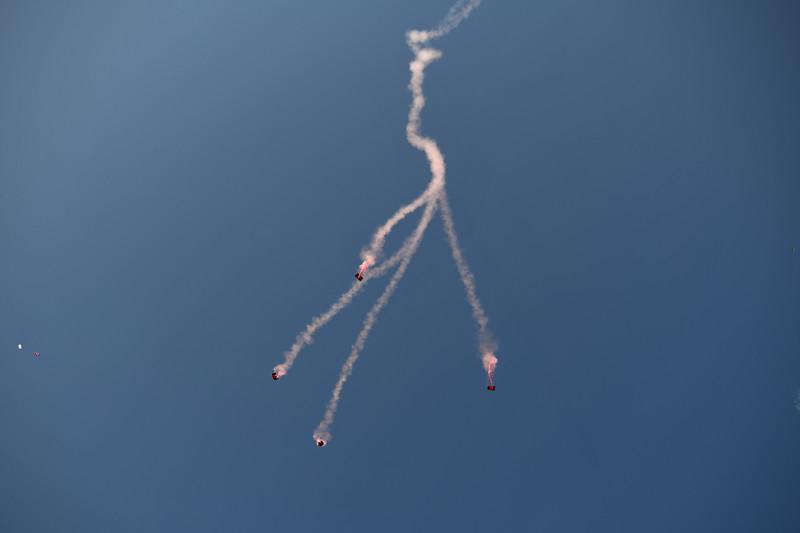 Black Daggers / Red Devils Parachute Jump