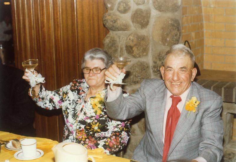 Vittorio & Maria Sangiacomo - 50th Wedding Anniversary - Sonoma Golf Club 1979