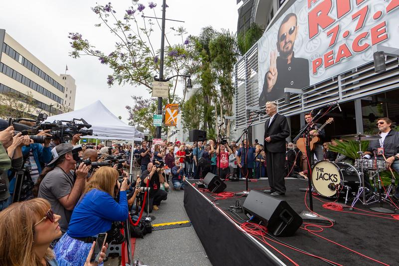 2019_07_07, Birthday, CA, Capitol Records, Los Angeles, Ringo, David Lynch