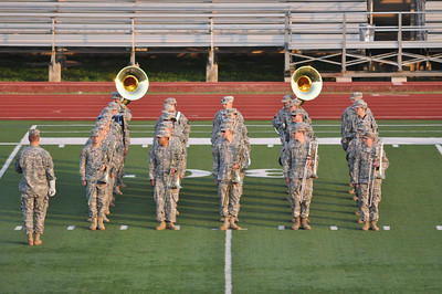 AT 1 2013 marching