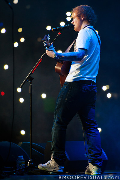 Ed Sheeran performs on December 9, 2012 during the 93.3 FLZ Jingle Ball at Tampa Bay Times Forum in Tampa, Florida