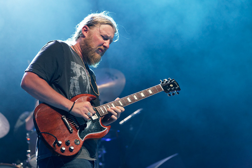 . Derek Trucks performs at Freedom Hill Amphitheatre on Tuesday, June 17. 