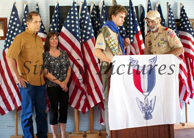 Eagle Scout Ceremony for Weston040