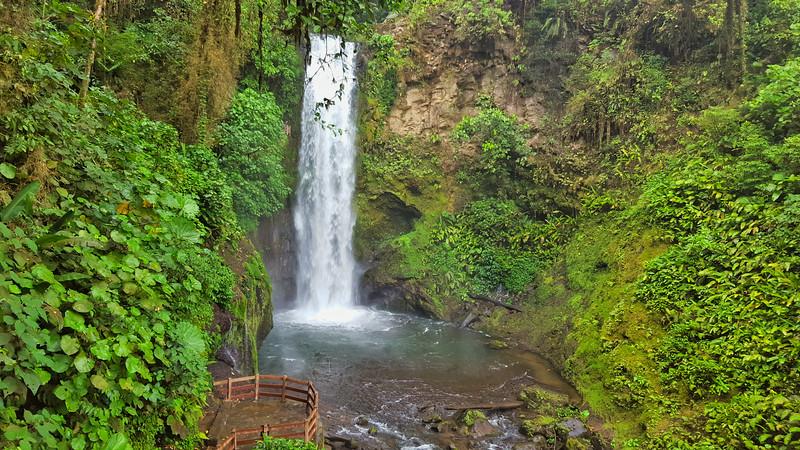 Tropical Costa Rica Waterfalls