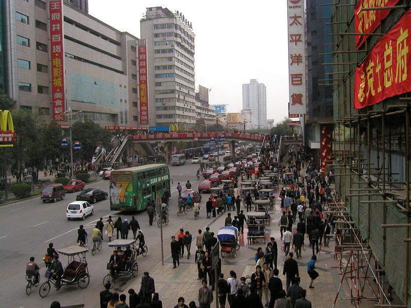 OChengdu in Sichuan Province 2001