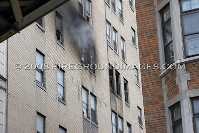 Wellington Plaza Fire (Detroit, MI) 7/26/07