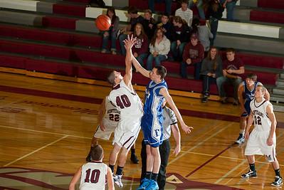 Montesano HS vs. Elma HS, mens varsity, December 14, 2010