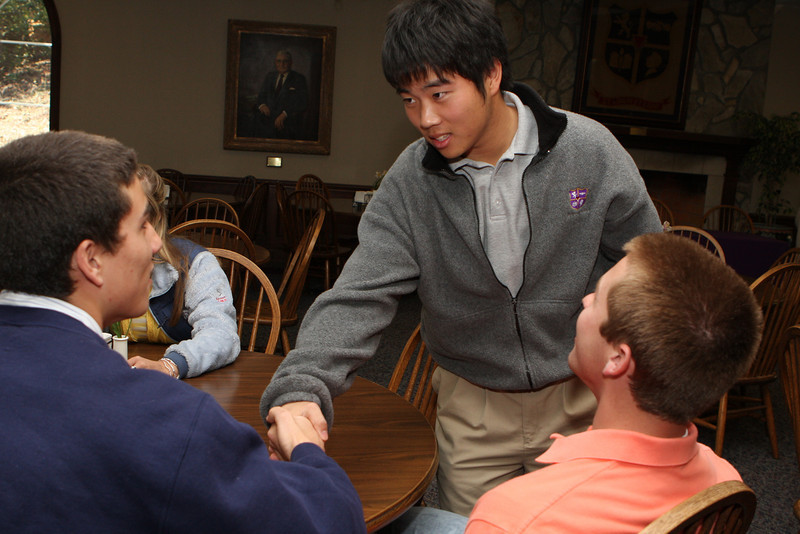Tim Kim signs with Berry College 3-6-08
