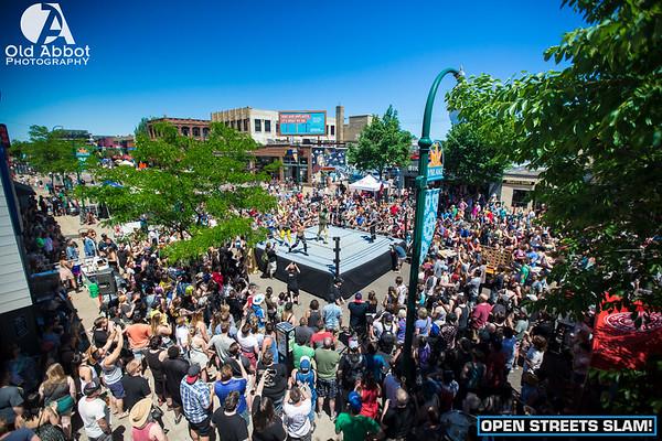 Open Streets Slam [F1RST Wrestling]