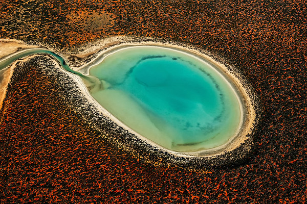 Australian outback aerials