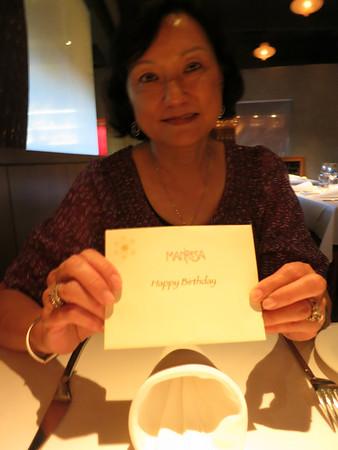Mom Bday Dinner at Manresa