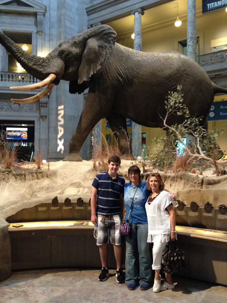 Washington DC con mama y Grettel