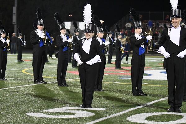 Marching Band at Varsity Football vs Skutt