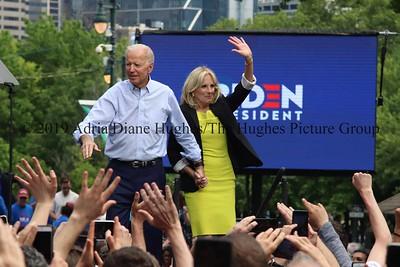 Joe Biden Presidential 2019 Campaign Kickoff Rally in Philadelphia