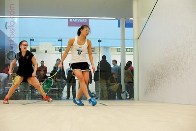 2011-03-05 Liz Chu (Columbia) and Caroline Feeley (Princeton)