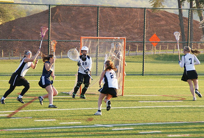 Girls JV Lacrosse April 2009