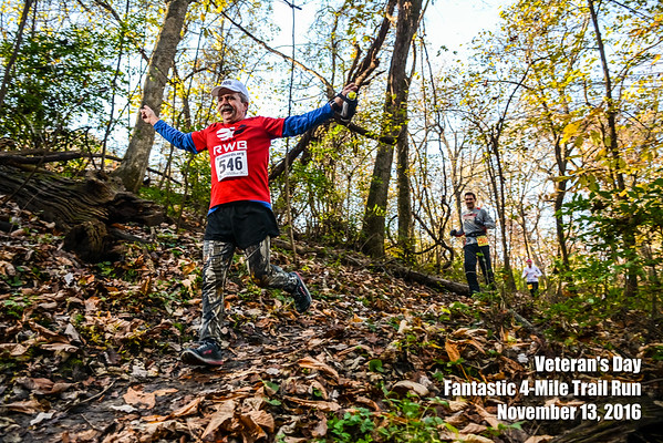 Veteran's Day Trail Run - 2016