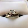 0.78ct Round Brilliant Diamond Bridal Set by Cartier 49