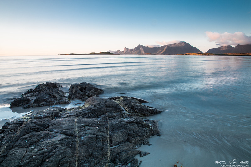 Midnighht Sun, Water & Rocks II