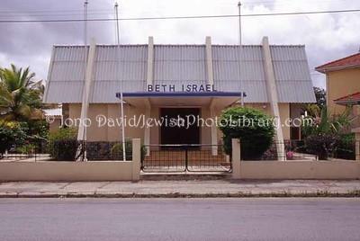 ARUBA, Oranjestad. Beth Israel Synagogue. (2007)
